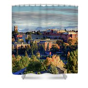 Autumn At Wsu Shower Curtain