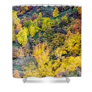 Autumn Background  Shower Curtain