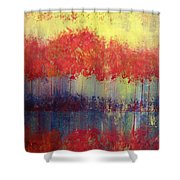 Autumn Bleed Shower Curtain