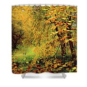 Autumn Bliss Of Color Shower Curtain
