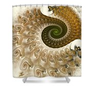 Autumn Breeze Shower Curtain