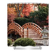 Autumn Bridge Shower Curtain by Andrea Silies