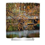 Autumn Bridge Shower Curtain