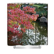 Autumn Color Poster Shower Curtain