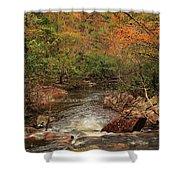Autumn Colors On Pickle Creek 1 Shower Curtain