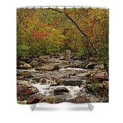 Autumn Colors On Pickle Creek 2 Shower Curtain