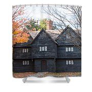 Autumn Comes To The Witch House Shower Curtain
