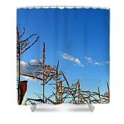 Autumn Corn Shower Curtain