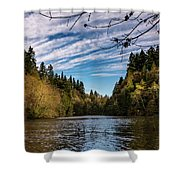 Autumn Cove Shower Curtain
