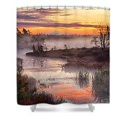 Autumn Dawning Shower Curtain