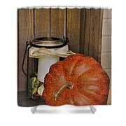 Autumn Decor 2 Shower Curtain