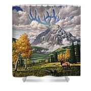 Autumn Echos Shower Curtain