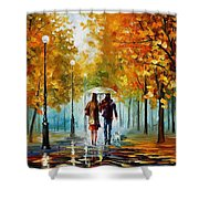 Autumn Elegy Shower Curtain