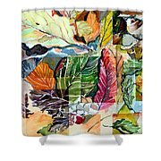 Autumn Falls Shower Curtain