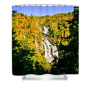 Autumn Falls Shower Curtain by Tom Zukauskas