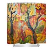 Autumn Feeling Shower Curtain