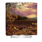 Autumn Fields Shower Curtain