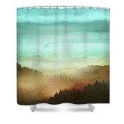 Autumn Flight Shower Curtain