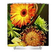 Autumn Flower Arrangement Shower Curtain