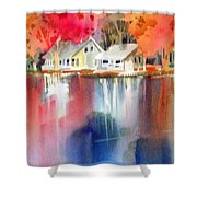 Autumn, Fox River Shower Curtain