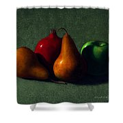 Autumn Fruit Shower Curtain