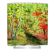 Autumn Fun Shower Curtain
