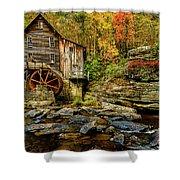 Autumn Glade Creek Grist Mill  Shower Curtain