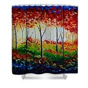 Autumn Glade Shower Curtain