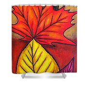 Autumn Glow Shower Curtain