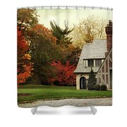 Autumn Grandeur Shower Curtain