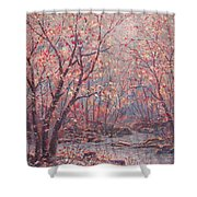 Autumn Harmony. Shower Curtain
