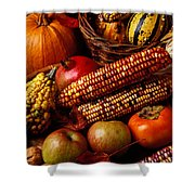 Autumn Harvest  Shower Curtain by Garry Gay