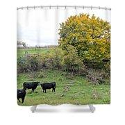 Autumn Herd Shower Curtain