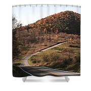 Autumn Hill Near Hancock Maryland Shower Curtain