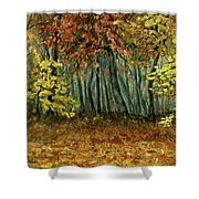 Autumn Hollow Shower Curtain