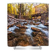 Autumn In American Fork Canyon Shower Curtain