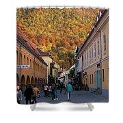 Autumn In Brasov Shower Curtain