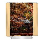 Autumn In Cades Cove Smnp Shower Curtain