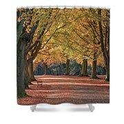 Autumn In Clifton, Bristol Shower Curtain