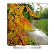 Autumn In Ellenberger Shower Curtain