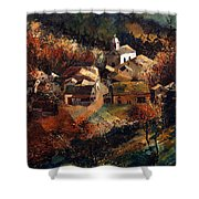 Autumn In Frahan Shower Curtain