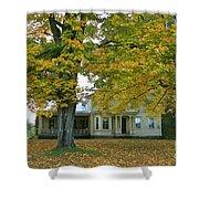 Autumn In Franklin Shower Curtain