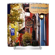 Autumn In Jim Thorpe Shower Curtain