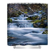 Autumn In Lost Creek Shower Curtain