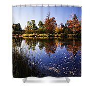 Autumn In Maine Usa Shower Curtain