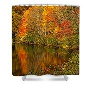 Autumn In Monroe Shower Curtain