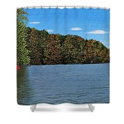 Autumn In Muskoka Shower Curtain