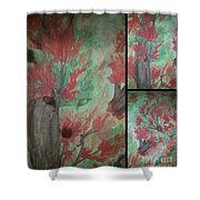 Autumn In My Soul Triptych Shower Curtain