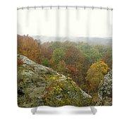 Autumn In Shawnee Shower Curtain