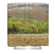 Autumn In Slope County Shower Curtain